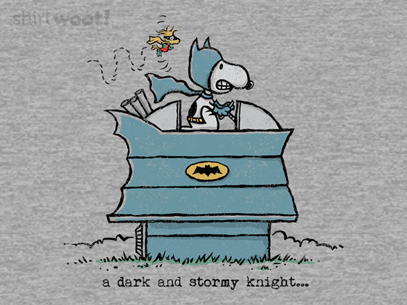 A Dark And Stormy Knight T Shirt
