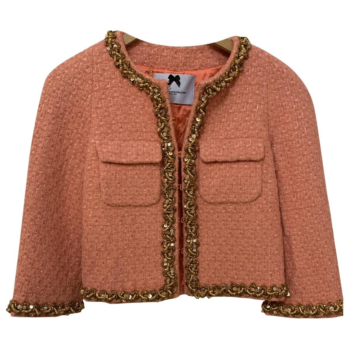 Blumarine - Veste   pour femme en laine - rose