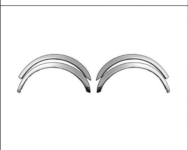 Quality Automotive Accessories 4-Piece Stainless Steel Wheel Well Fender Nissan Titan 2010
