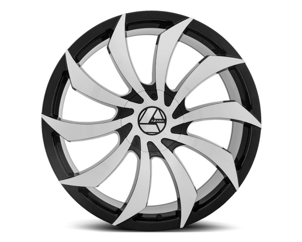 Azara 507 Wheel 18x8 5x114.3 5x120 35mm Gloss Black Machined