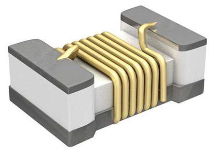 Murata , LQW15A, 0402 (1005M) Wire-wound SMD Inductor with a Ferrite Core, 2.7 nH ±0.1nH Wire-Wound 850mA Idc Q:20 (10)