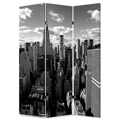 274621 1 x 48 x 72 Multi-Color  Wood  Canvas  New York Skyline -
