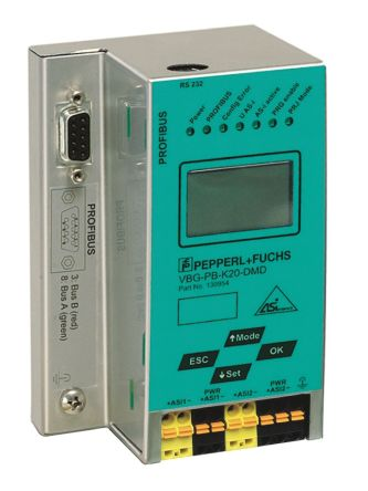 Pepperl + Fuchs ASI to Profibus Gateway Double Master