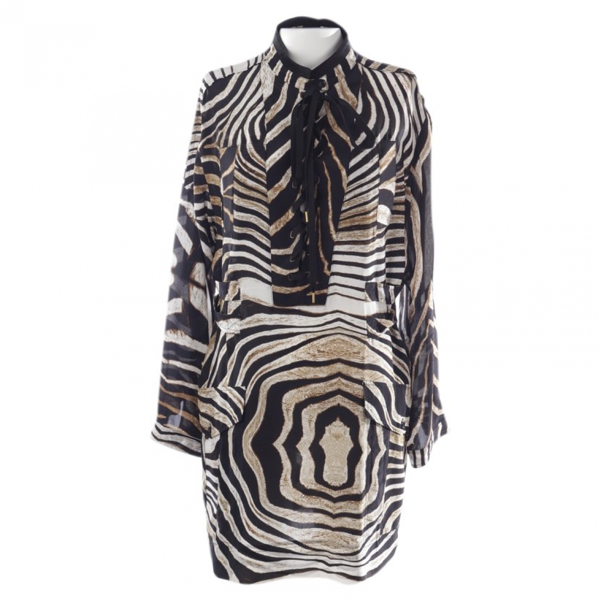 Just Cavalli \N Kleid in  Bunt Seide