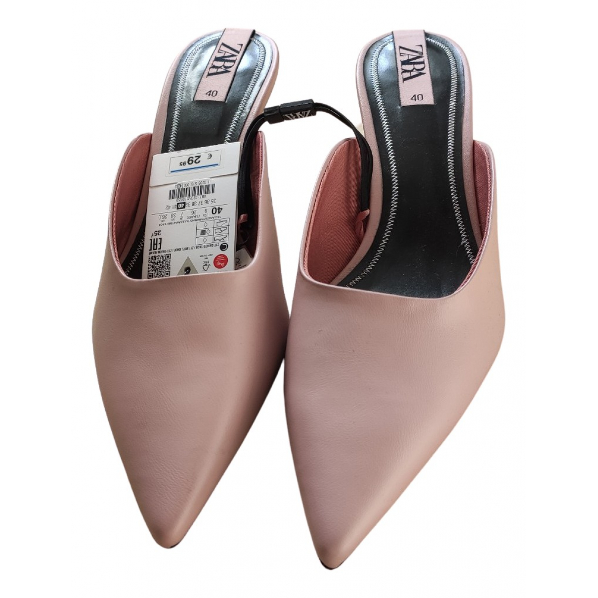 Zara - Sandales   pour femme - rose