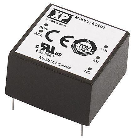 XP Power , 5W AC-DC Converter, 9V dc, Encapsulated