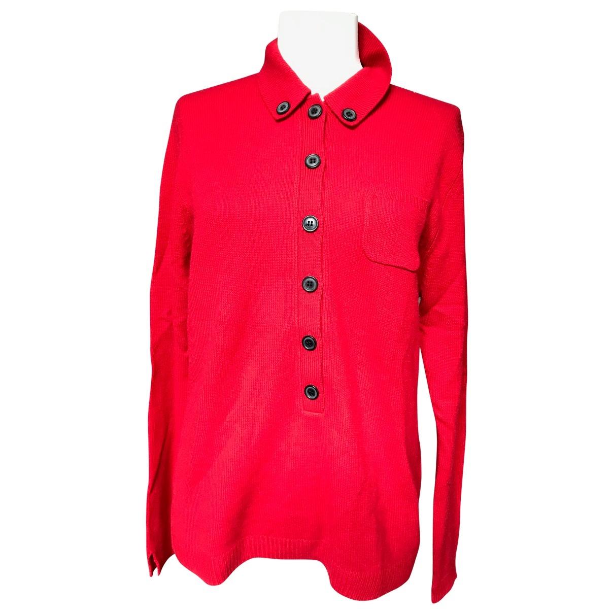 Eric Bompard \N Pullover in  Rot Kaschmir