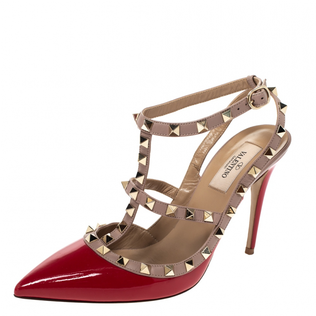 Autre Marque \N Red Patent leather Sandals for Women 8.5 US