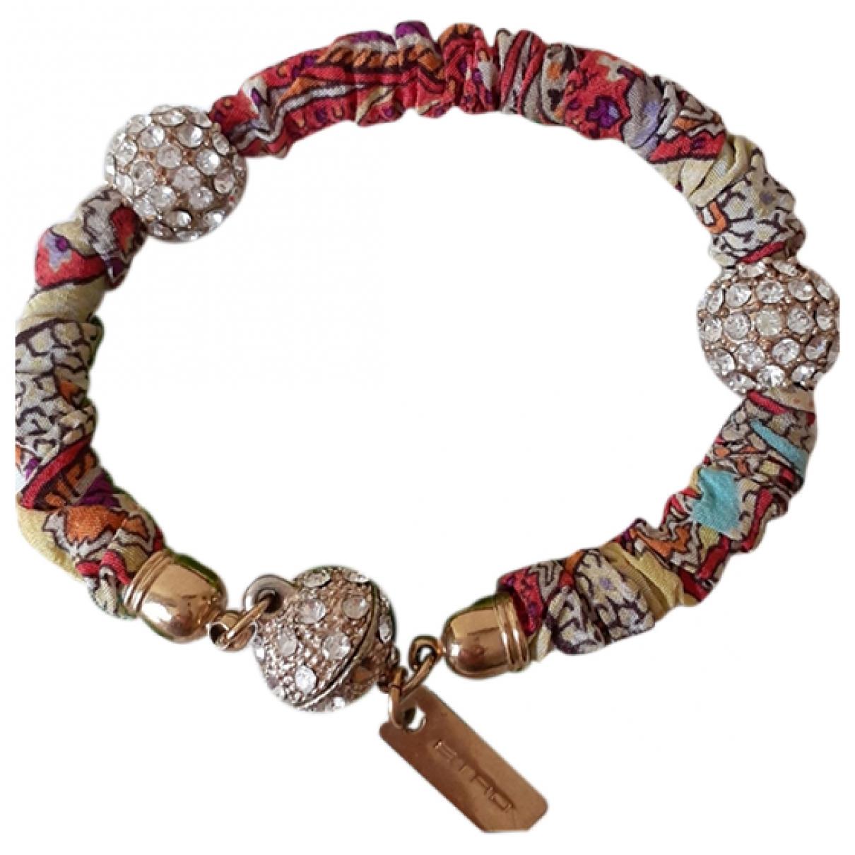 Etro \N Multicolour Silk bracelet for Women \N