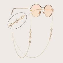 Cadena de gafas con estrella