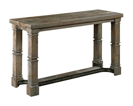 Cheyenne Collection 825-925 SOFA TABLE in Aged Barn Wood