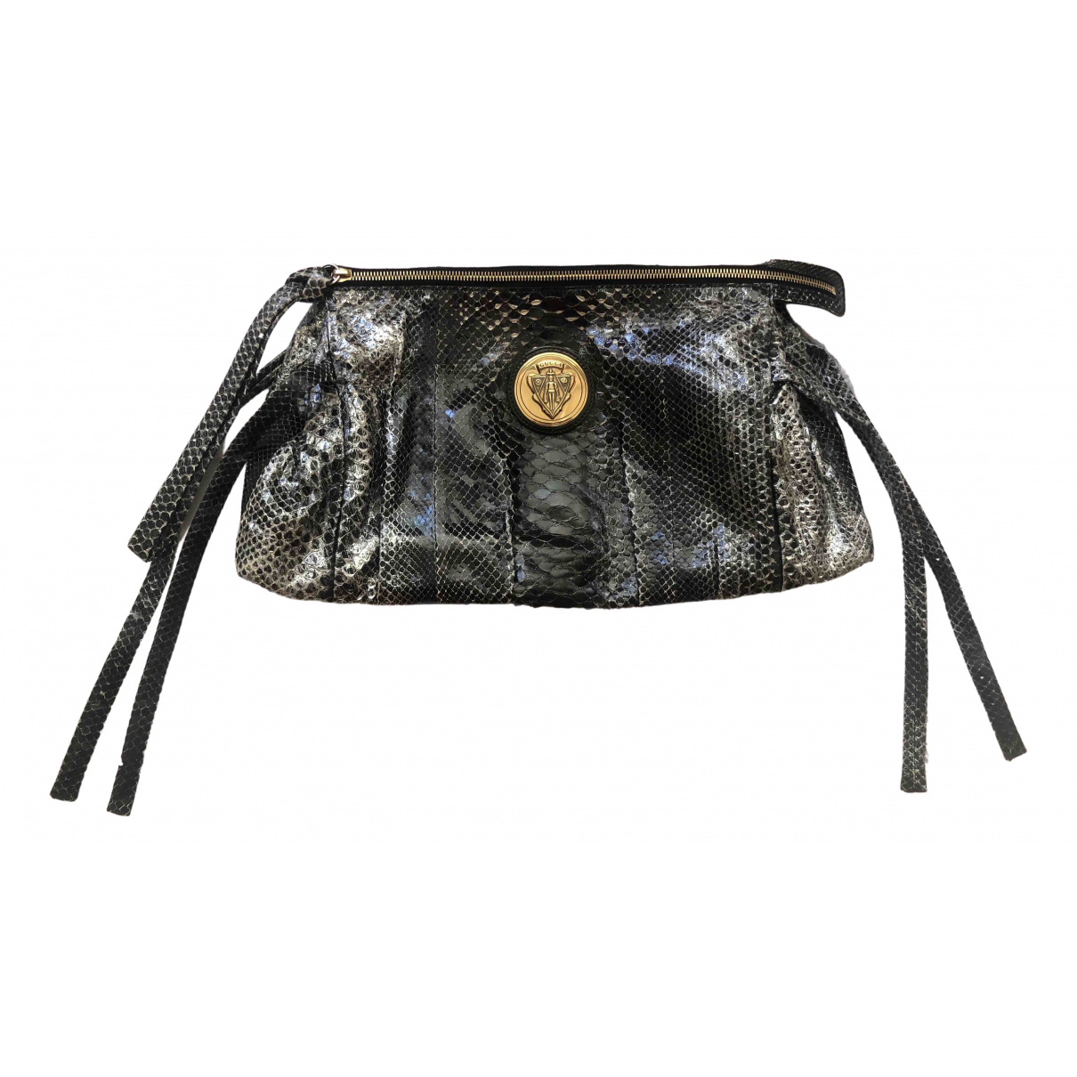 Gucci Hysteria Black Water snake Clutch bag for Women \N