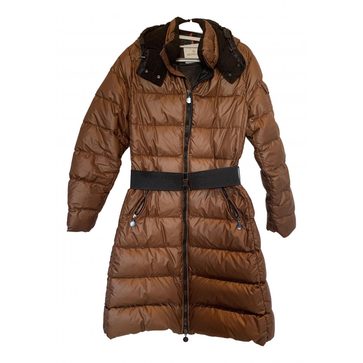 Moncler Long Brown coat for Women 3 0-5