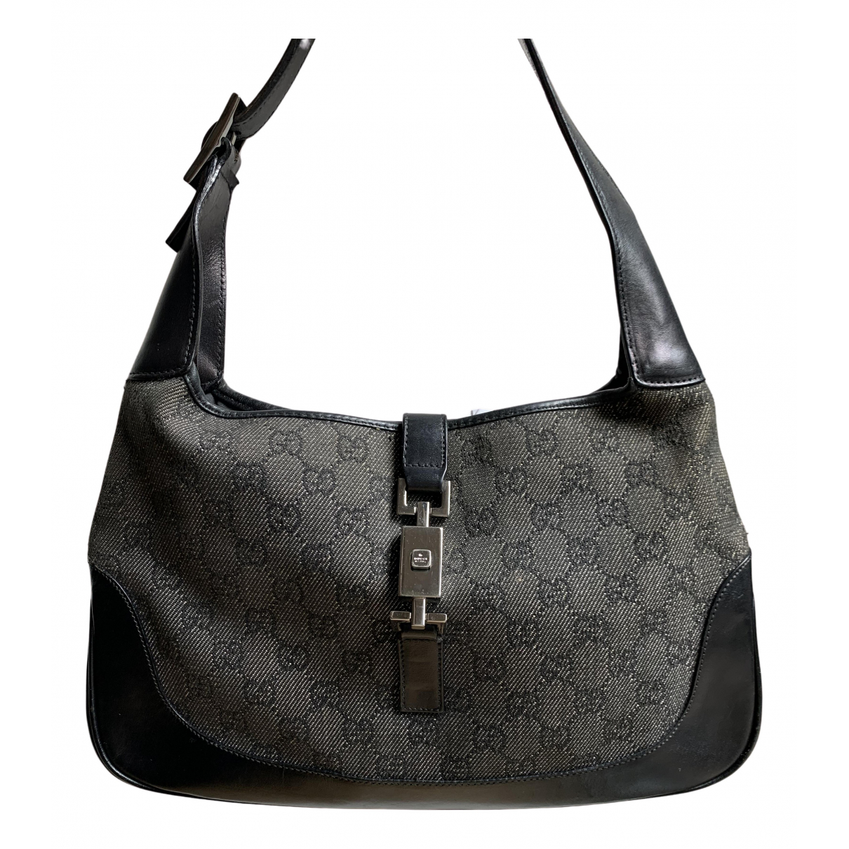 Gucci Jackie Vintage  Black Cloth handbag for Women N