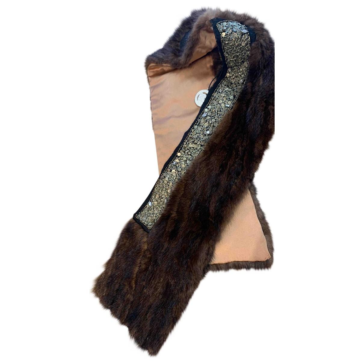 Pinko - Foulard   pour femme en vison - marron