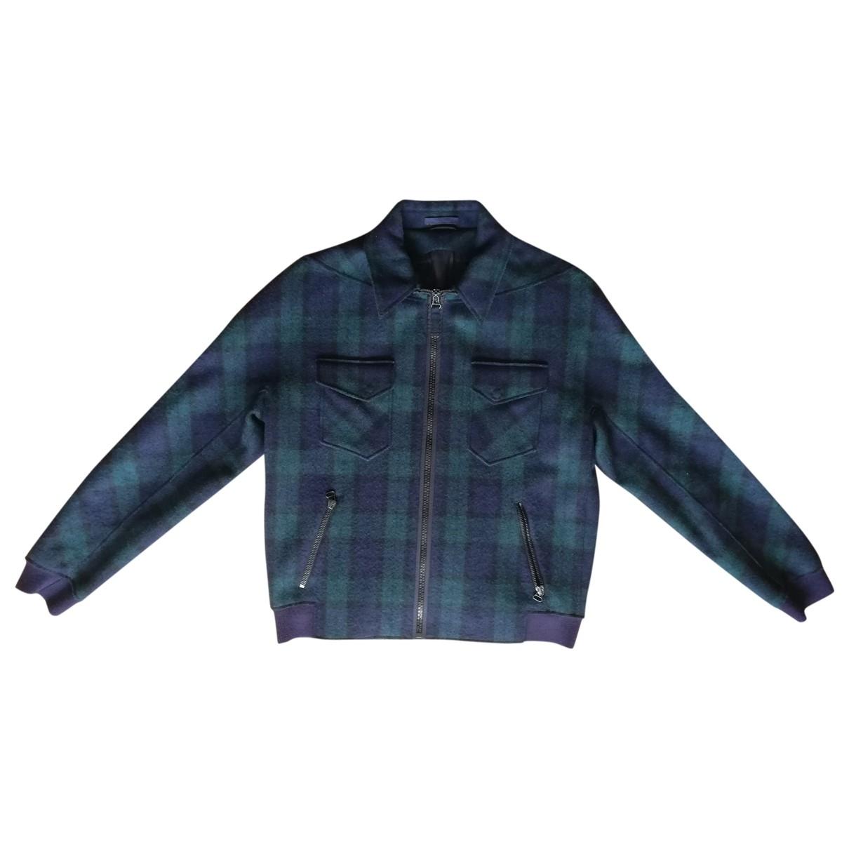 Lanvin - Vestes.Blousons   pour homme en laine - vert