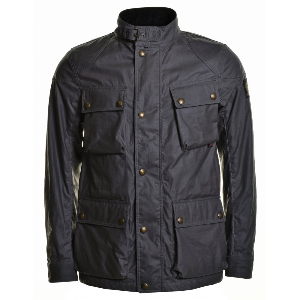 Belstaff Fieldmaster Jacket Colour: GREY, Size: EXTRA EXTRA LARGE