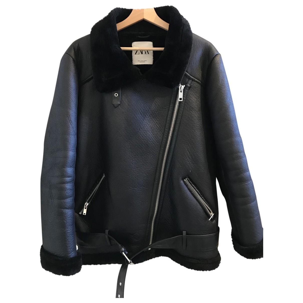 Zara \N Black jacket for Women XL International