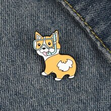 Cartoon Dog Design Brooch