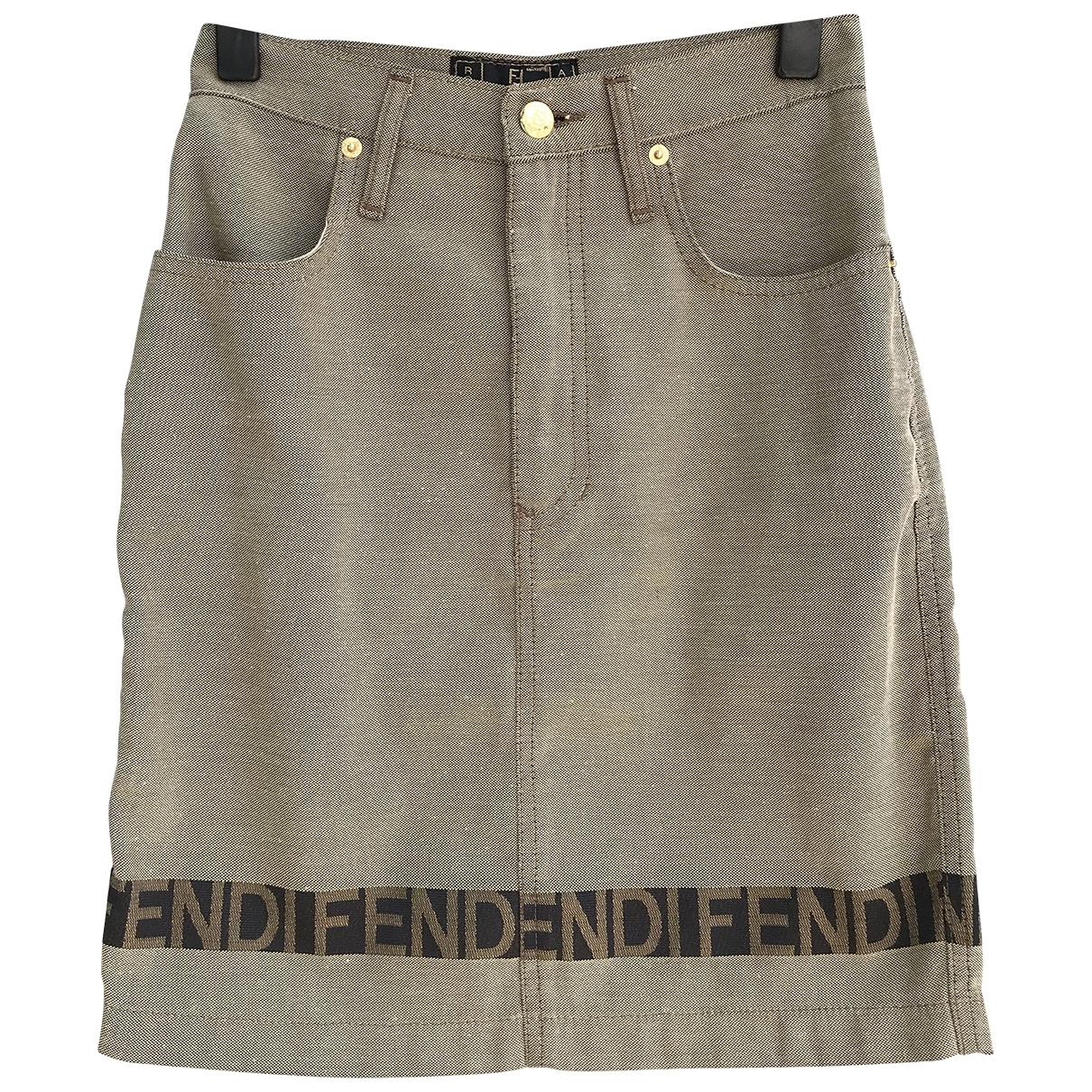 Fendi \N Brown skirt for Women S International