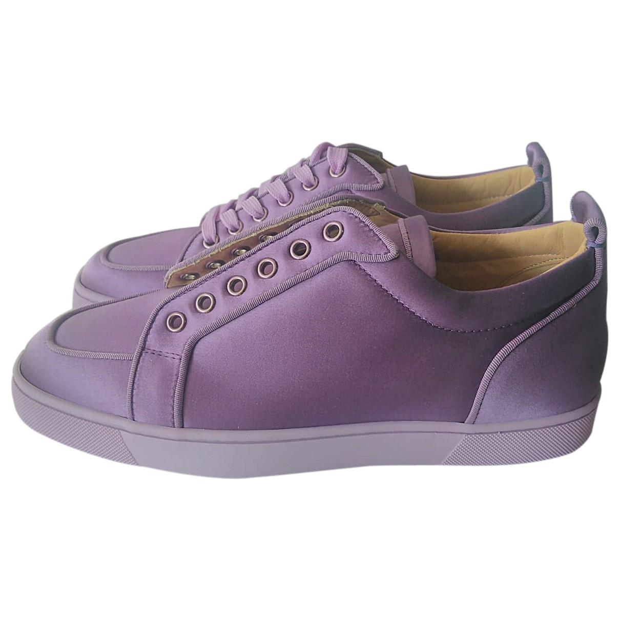 Christian Louboutin - Baskets   pour homme - violet