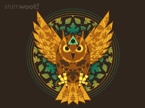 Owl Seeing Eye T Shirt