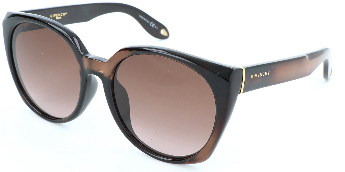 Givenchy GV 7043/F/S Asian Fit R99 Women's Sunglasses Brown Size 56
