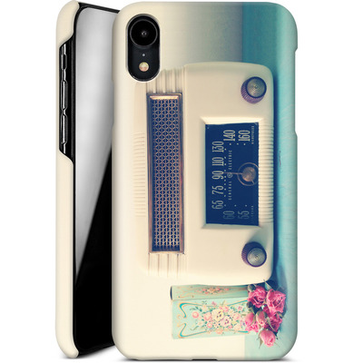 Apple iPhone XR Smartphone Huelle - Retro Radio von Joy StClaire