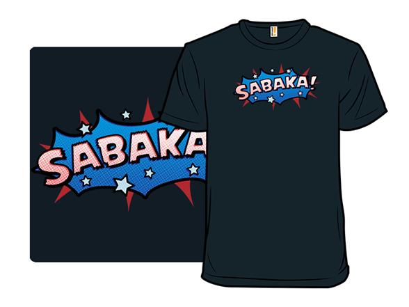 Sci-fi Slang - Sabaka T Shirt