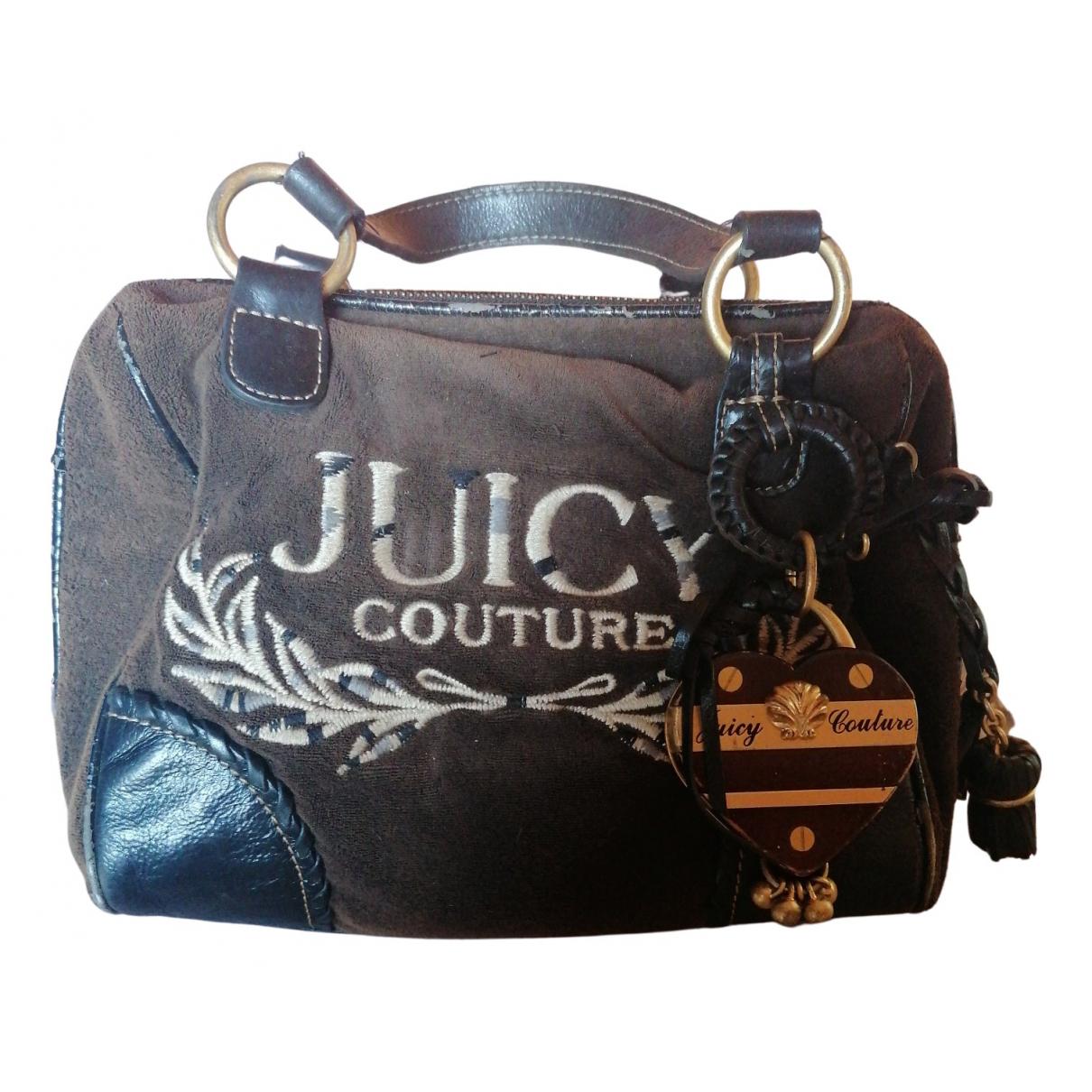Juicy Couture - Sac a main   pour femme en coton - noir