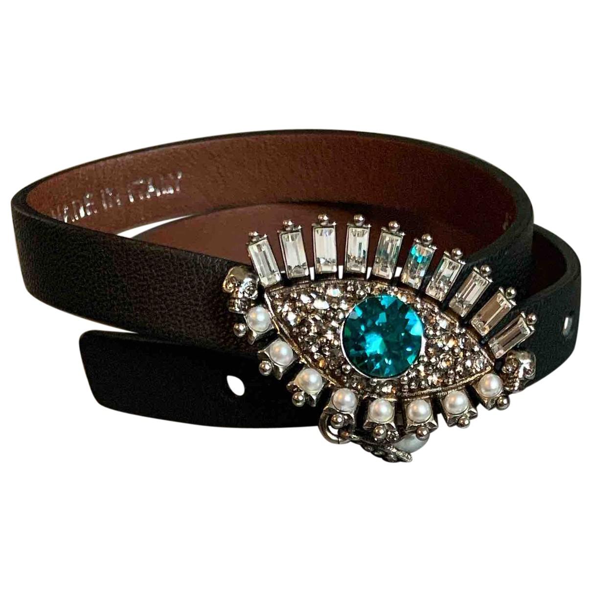 Alexander Mcqueen - Bracelet   pour femme en cuir