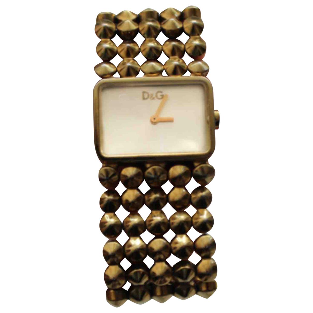 D&g \N Uhr in  Gold Stahl