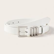 Square Buckle Belt