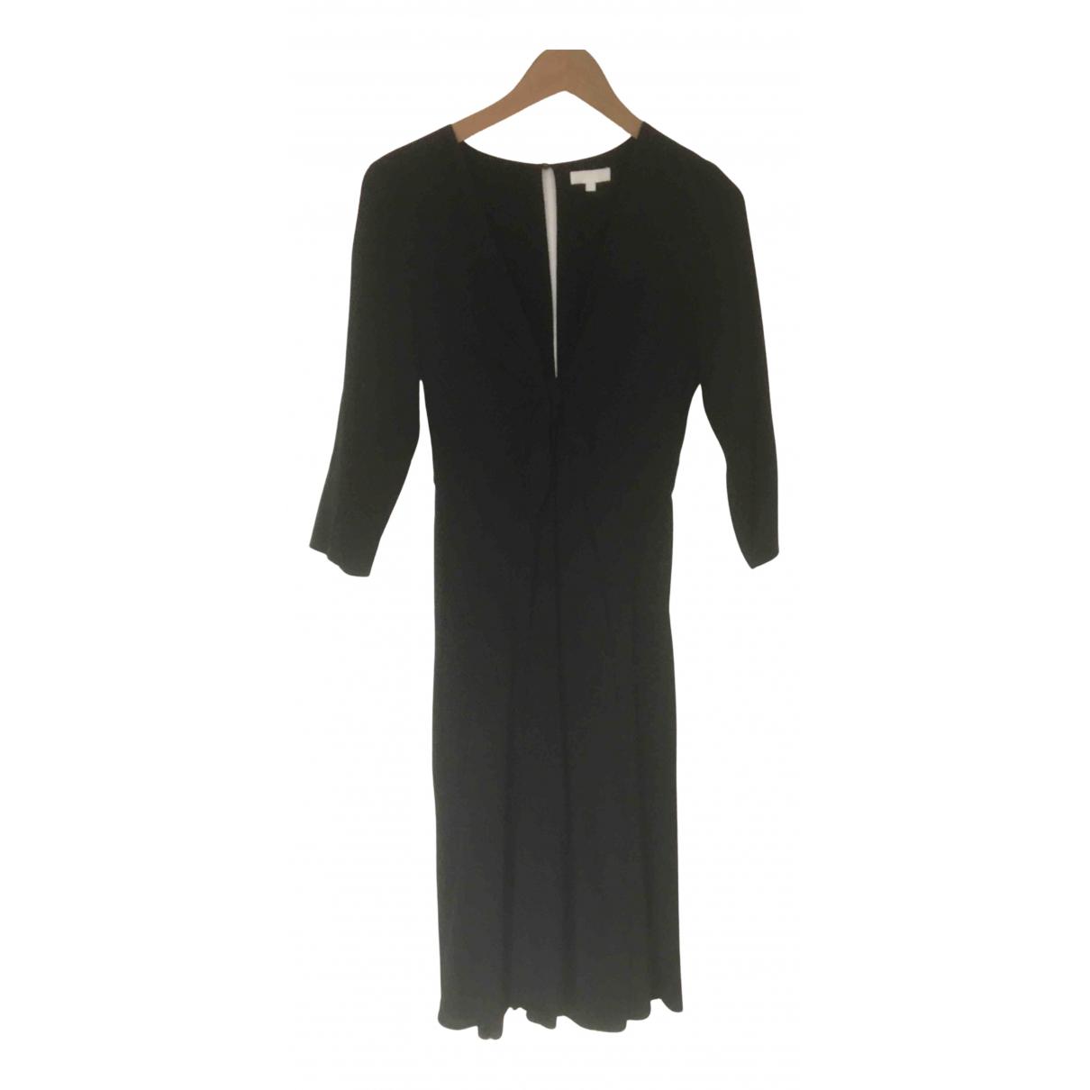 Sézane N Black Silk dress for Women 36 FR