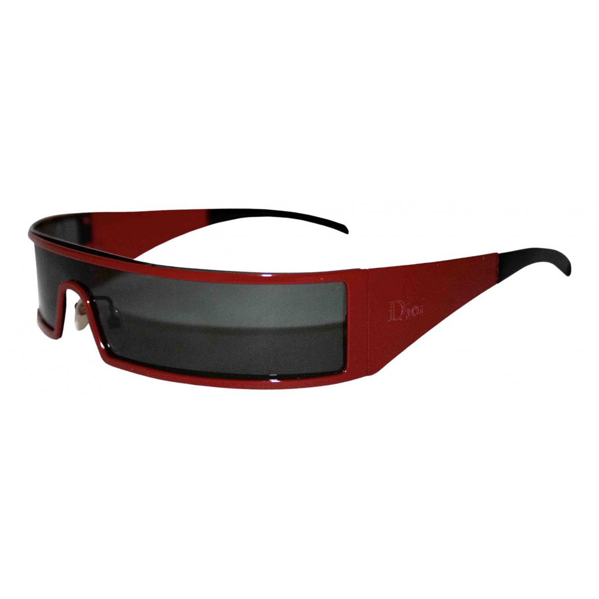 Dior \N Red Metal Sunglasses for Women \N