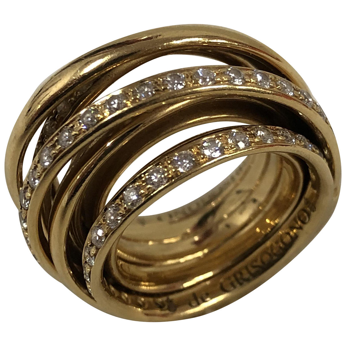 De Grisogono - Bague Allegra pour femme en or jaune - jaune