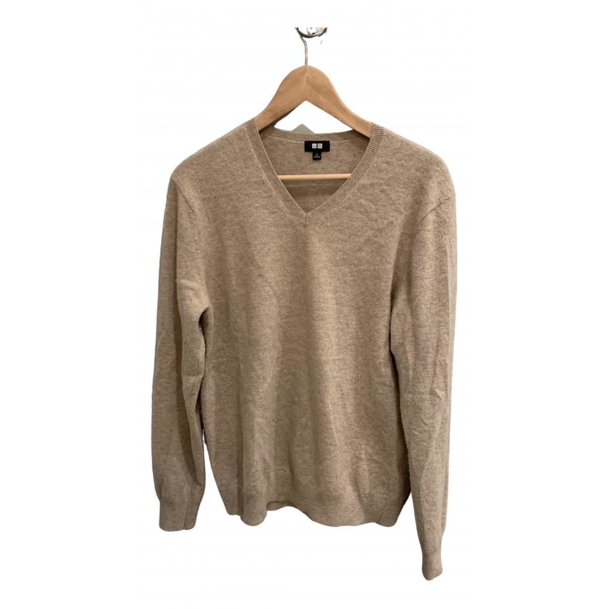Uniqlo \N Pullover.Westen.Sweatshirts  in  Beige Kaschmir