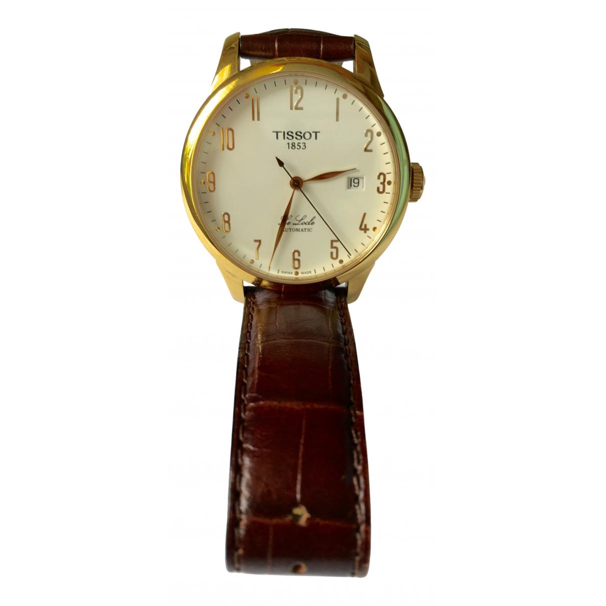 Tissot \N Uhr in  Gold Stahl