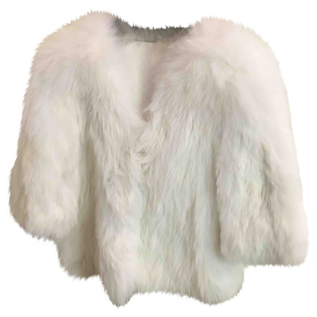Non Signé / Unsigned \N White Fox jacket for Women S International