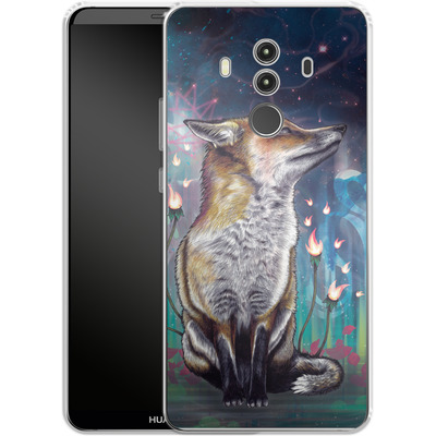 Huawei Mate 10 Pro Silikon Handyhuelle - There Is A Light von Mat Miller