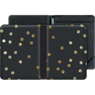 tolino vision 3 HD eBook Reader Huelle - Gold Dots von Khristian Howell