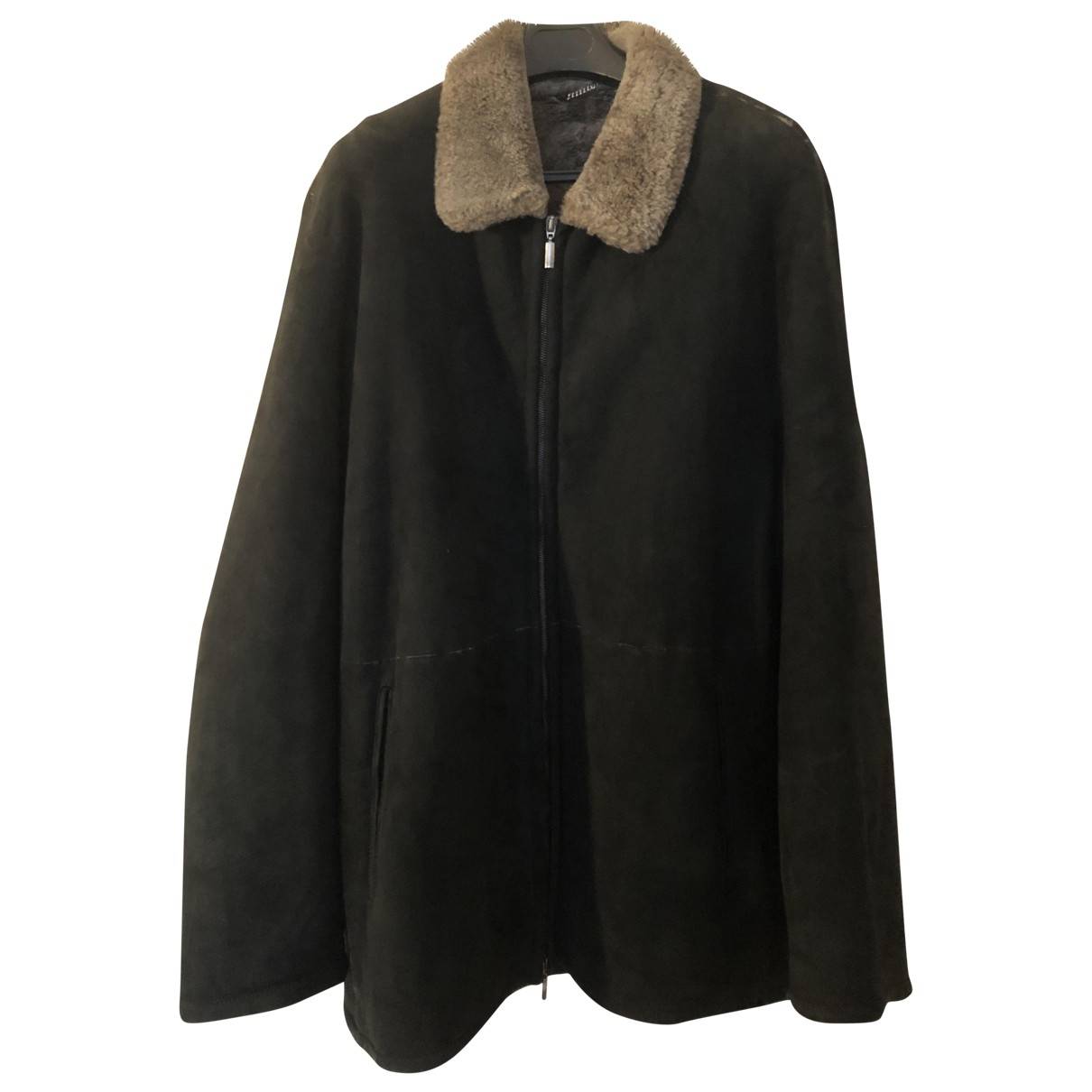 Fratelli Rossetti - Veste   pour femme en mouton - noir