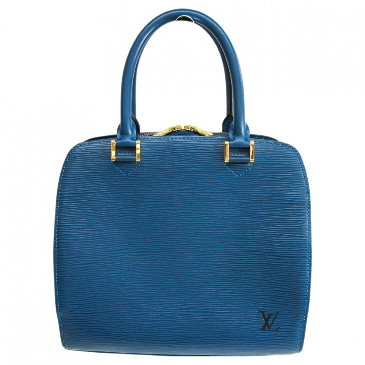 Louis Vuitton Pont Neuf Vintage  Blue Leather handbag for Women N