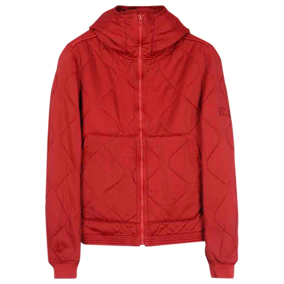 Stone Island \N Pullover.Westen.Sweatshirts  in  Rot Wolle