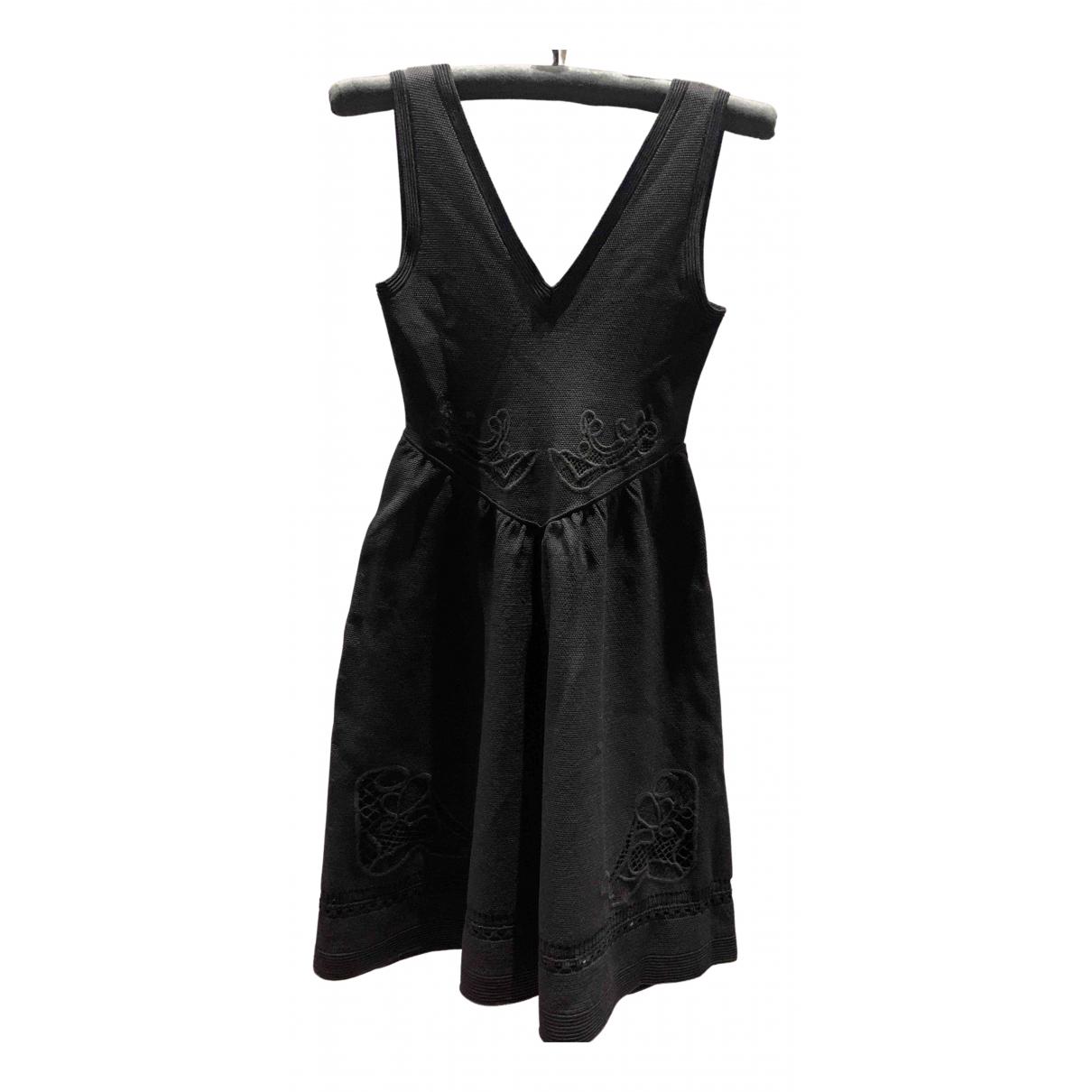 Maje N Black dress for Women 38 FR