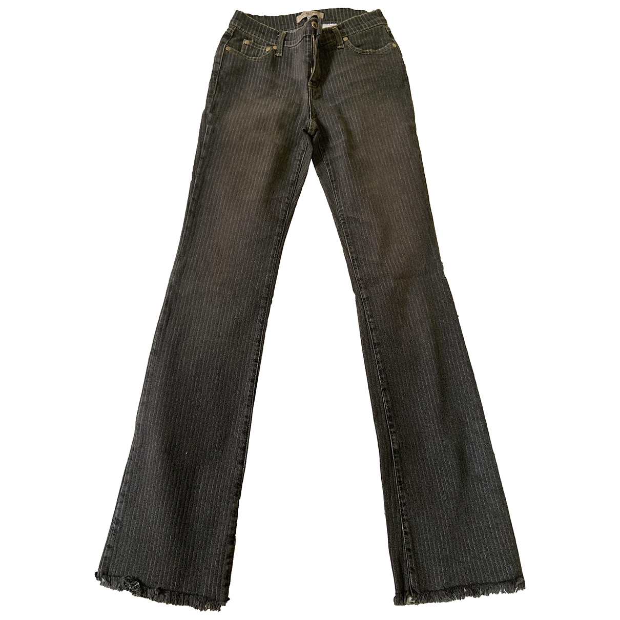 See By Chloé \N Grey Denim - Jeans Trousers for Women 42 IT