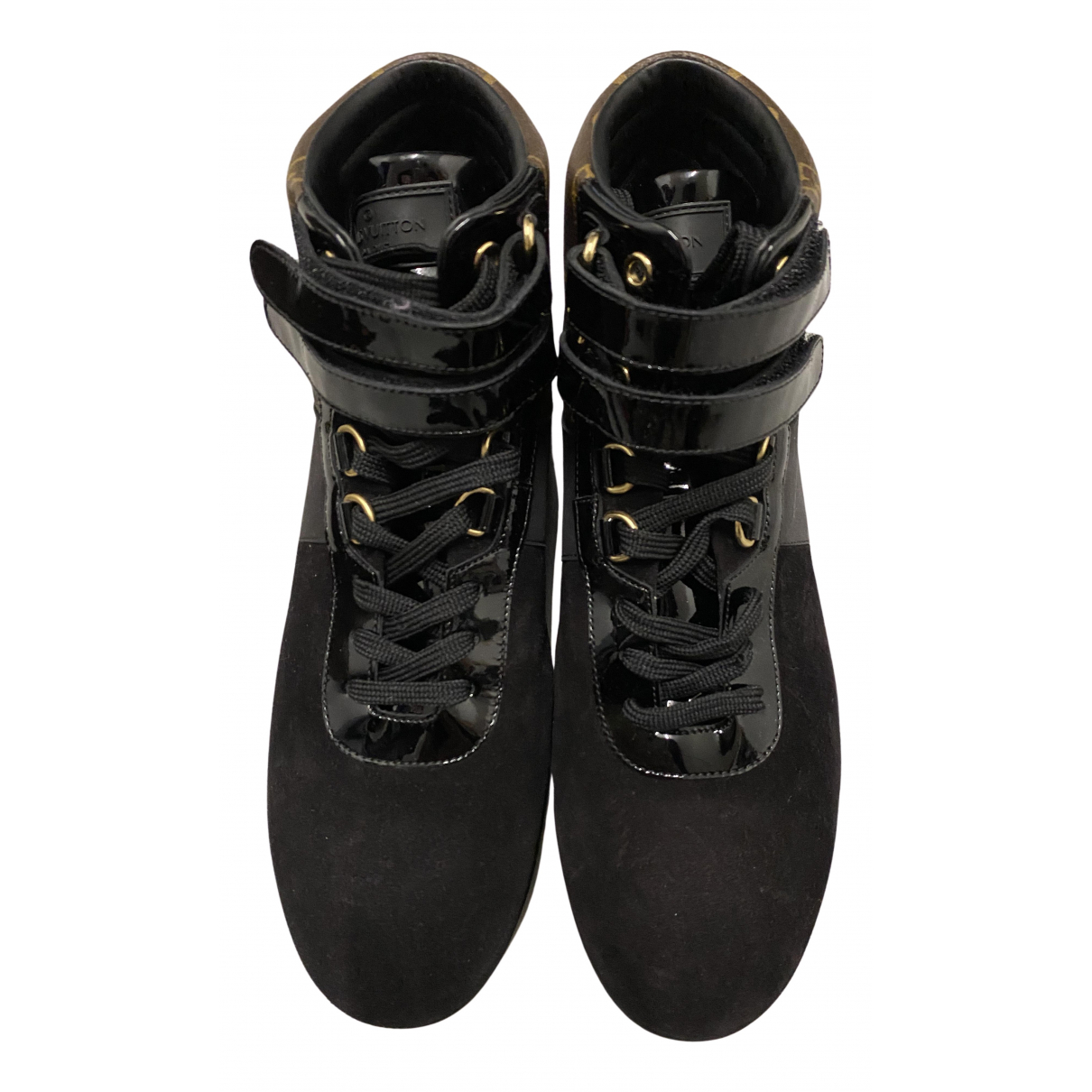 Louis Vuitton \N Sneakers in  Braun Leder