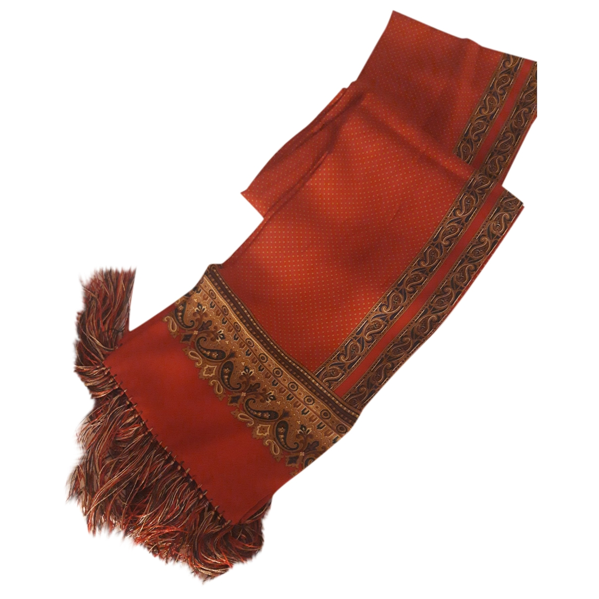 Altea - Foulard   pour femme en soie - rouge