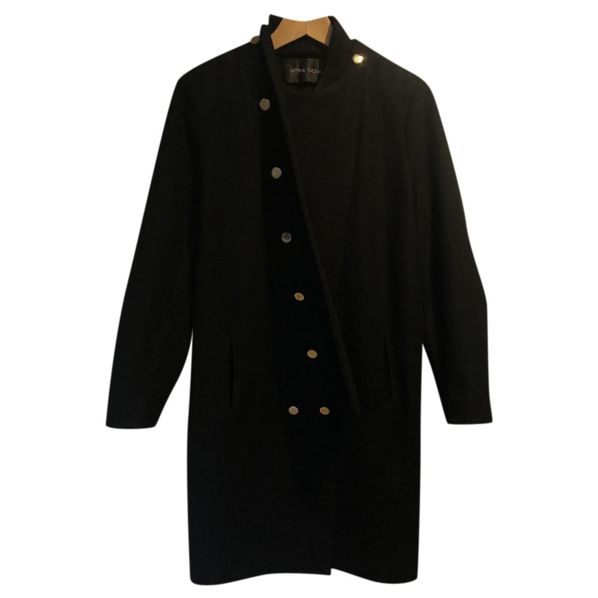 Stine Goya - Manteau   pour femme en laine - noir