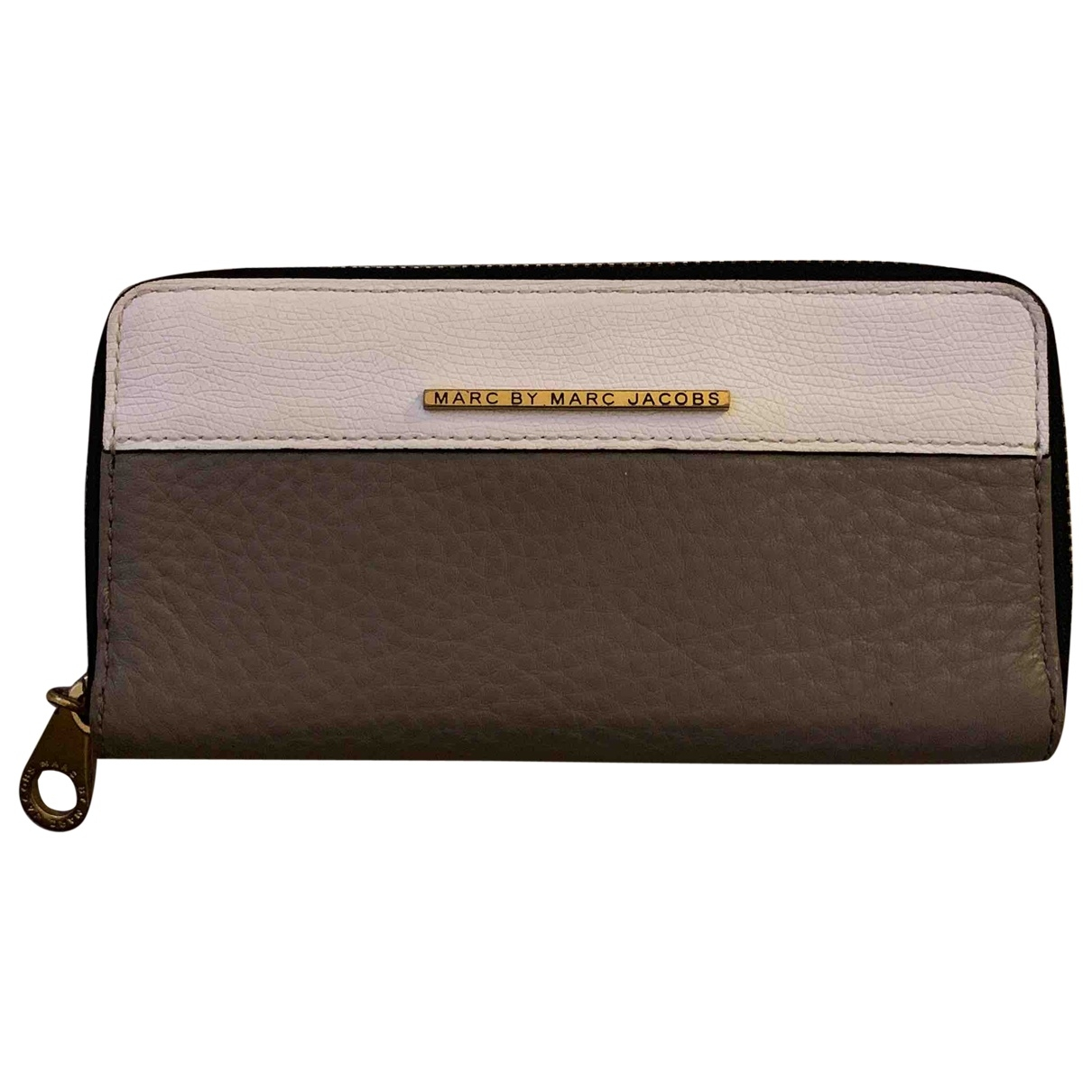Marc By Marc Jacobs \N Grey Leather wallet for Women \N